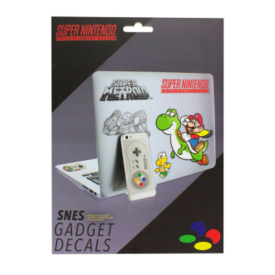 Super Nintendo Vinyl Sticker Set 17