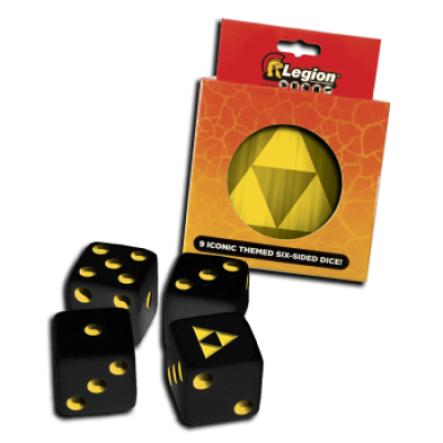 Legion - D6 Dice Tin - Iconic Tri-Force