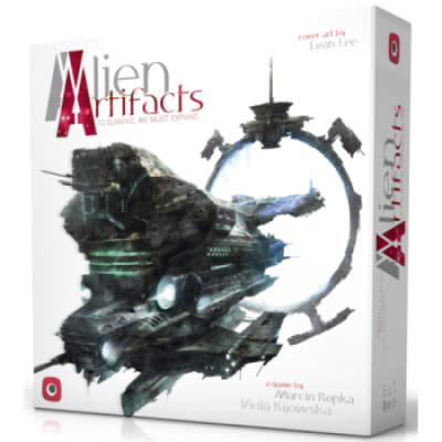 Alien Artifacts, English