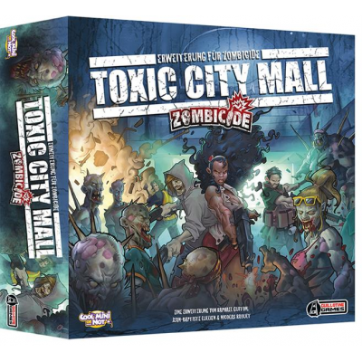 Zombicide - Toxic City Mall, German