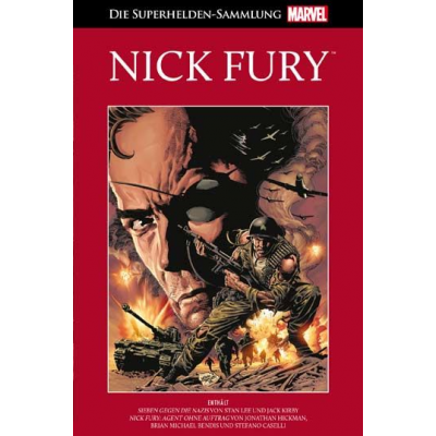 Hachette Rote Marvel Collection 21: Nick Fury