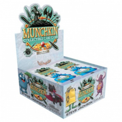 Munchkin CCG Booster Display, English