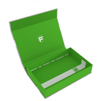 Feldherr Magnetic Box half-size 55 mm green empty