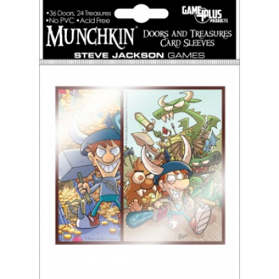 Munchkin - Doors and Treasures Card Sleeves (60 Sleeves)