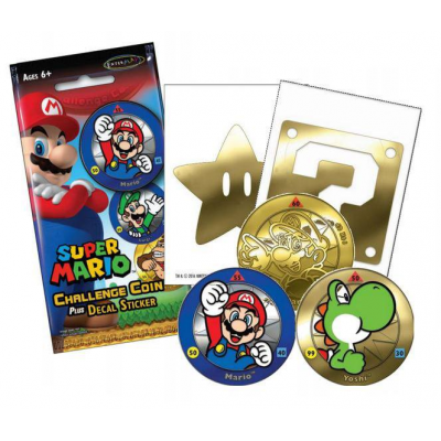 Super Mario Challenge Coin Packs
