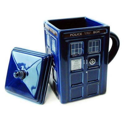Doctor Who 3D Mug Tardis