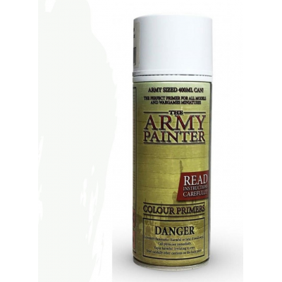 The Army Painter: Color Primer, Matt White 400 ml