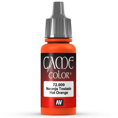 Vallejo Game Color: 009 Hot Orange, 17 ml
