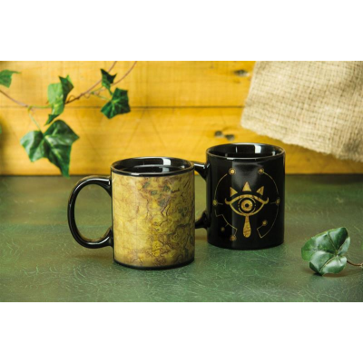 Legend of Zelda Breath of the Wild Tasse mit Thermoeffekt Shiekah-Auge