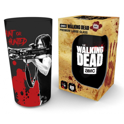 Walking Dead Premium Pint Glass Daryl Black