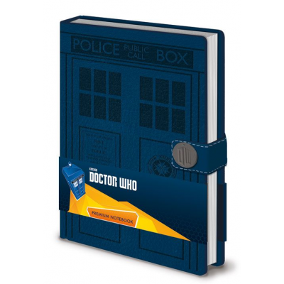 Doctor Who Premium Notebook A5 Tardis