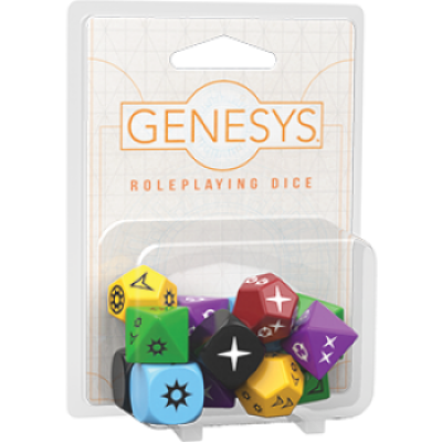 FFG - Genesys RPG Roleplaying Dice Pack