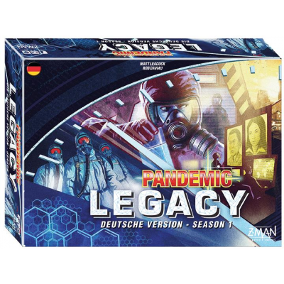 Pandemic Legacy - Season 1 Blau, German