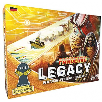 Pandemic Legacy - Season 2 Gelb, German