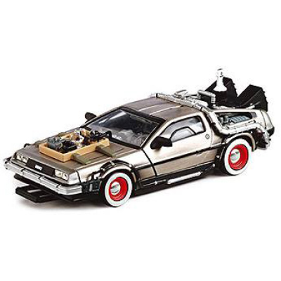 Back to the Future III Diecast Model 1/43 DMC DeLorean