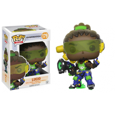 Overwatch POP! Games Vinyl Figur Lucio 9 cm