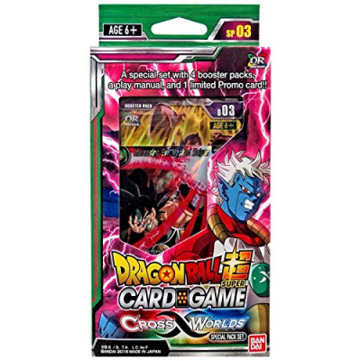 Dragon Ball Super Card Game - Cross Worlds Special Pack...