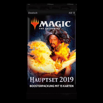 MTG - Hauptset 2019 Booster Pack, Deutsch