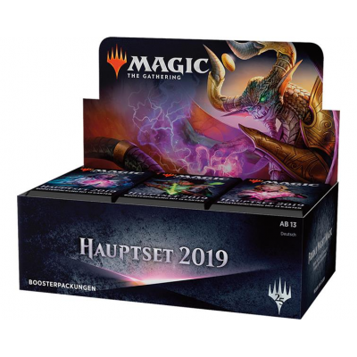 MTG - Core Set 2019 Booster Display, German