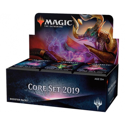 MTG - Core Set 2019 Booster Display, English