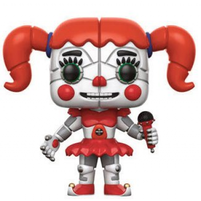 Five Nights at Freddys Sister Location POP! Games Vinyl Figur Baby 9 cm