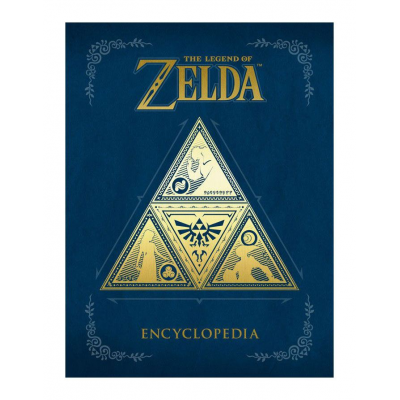 The Legend of Zelda Encyclopedia Hardcover, English