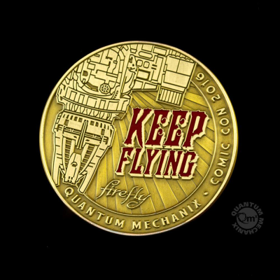 Firefly Münze Keep Flying Challenge Coin SDCC 2016