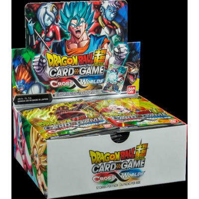 Dragon Ball Super Card Game - Cross Worlds Booster...