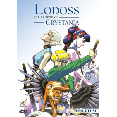 Lodoss - the Legend of Crystania DVD Vol. 1 - Kinofilm