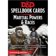 D&D Spellbook Cards - Martial Powers & Races (61 Cards),...