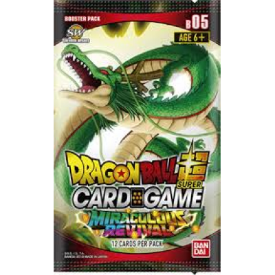 Dragon Ball Super Card Game - Miraculous Revival Booster...