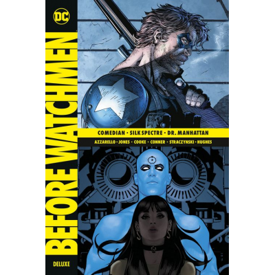 Before Watchmen Deluxe 2 (von 3) (enth. Comedian, Silk Spectre, Dr. Manhattan)