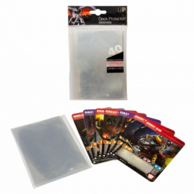 UP - Oversized Clear Top Loading Deck Protector Sleeves...