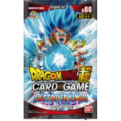 Dragon Ball Super Card Game - Face the Destroyer Booster...