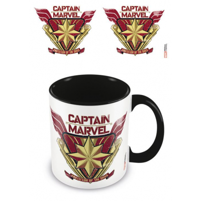 Captain Marvel Coloured Inner Tasse Protector