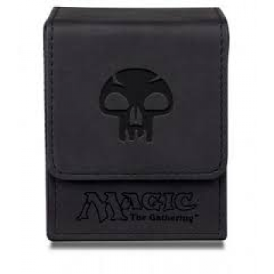UP - Deck Box Flip - Magic Mana - Mat Black