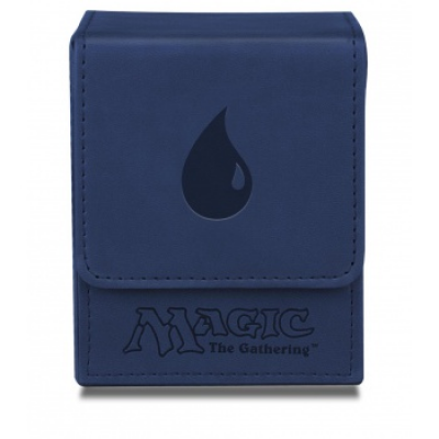 UP - Deck Box Flip - Magic Mana - Mat Blue