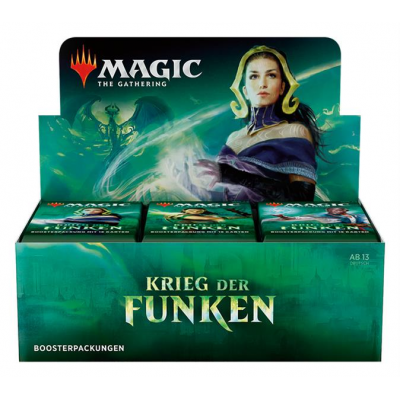 MTG - War of the Spark Booster Display, German
