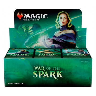 MTG - War of the Spark Booster Display, English