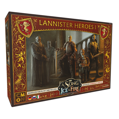 A Song of Ice & Fire - Lannister Heroes 1 (Helden von...