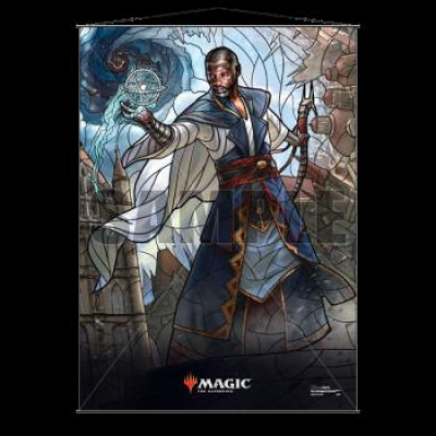 UP - Stained Glass Wall Scroll Magic: The Gathering - Teferi