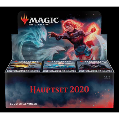 MTG - Core Set 2020 Booster Display, German