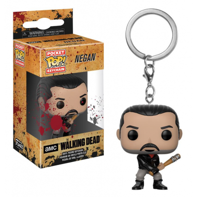 The Walking Dead POP! Vinyl Schlüsselanhänger Negan 4 cm