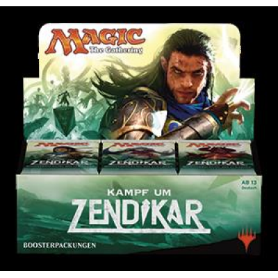 MTG - Battle for Zendikar Booster Display, German