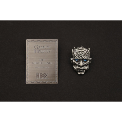 Game of Thrones Pin Badge & Plaque Night King