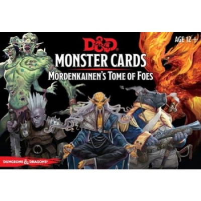 D&D Monster Cards - Mordenkainens Tome of Foes (109...
