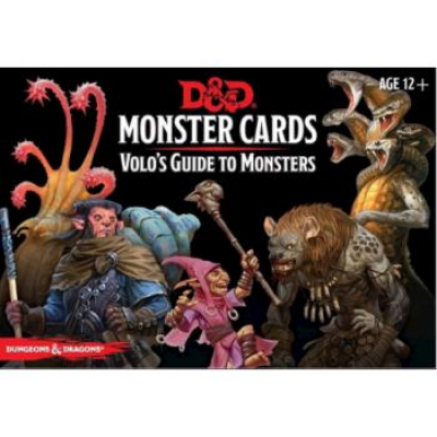 D&D Monster Cards - Volo`s Guide To Monsters (81 Cards),...