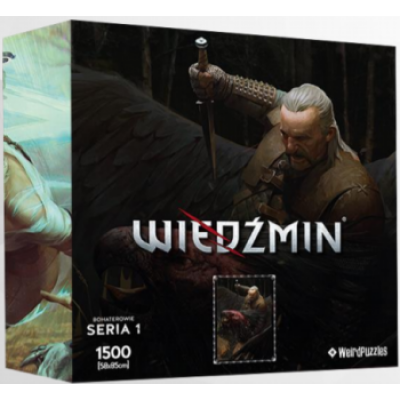 Heroes of the Witcher Series 1 Puzzle 58x85 cm - VESEMIR