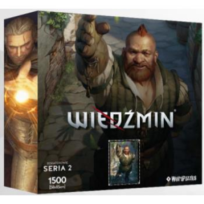Heroes of the Witcher Series 2 Puzzle 58x85 cm - ZOLTAN...