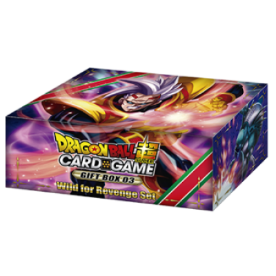 Dragon Ball Super Card Game - Gift Box 3, Englisch